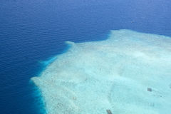 Maldives reef Stock Photo