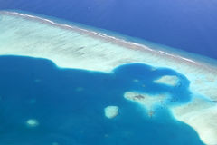 Maldives reef Stock Photos