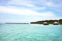 Maldives resort Royalty Free Stock Photography