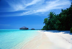 Maldives resort Royalty Free Stock Images
