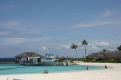 Maldives Resort Royalty Free Stock Photography