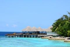 Maldives resort Stock Photography