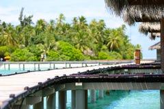 Maldives resort Stock Photos