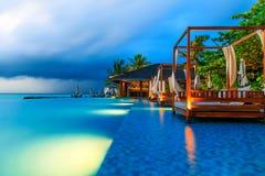 The maldives scenery Royalty Free Stock Photo