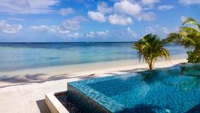 The maldives scenery Stock Image