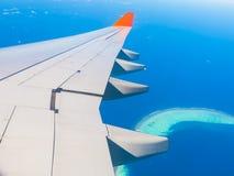 Maldives, sea plane, Close up stock photography