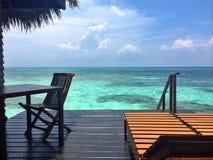 Maldives. #Sea #sky #sun #wind stock images