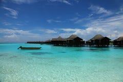 Maldives seascape Royalty Free Stock Image