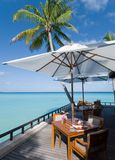 Maldives seascape. This photo was taken on one & only reethi rah island of maldives Stock Photo