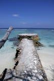 Maldives skyscape Royalty Free Stock Photo
