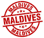 Maldives stamp Royalty Free Stock Photos