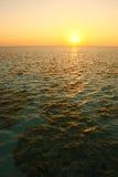 Maldives sunset Royalty Free Stock Images