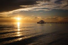 Maldives sunset Stock Photos