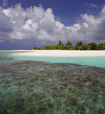 Maldives - Tropical Island Stock Photography