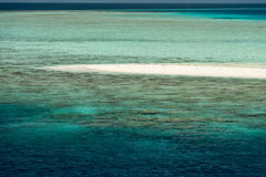 Maldives tropical paradise beach landscape Royalty Free Stock Photography