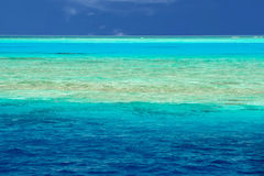 Maldives tropical paradise beach landscape Stock Image