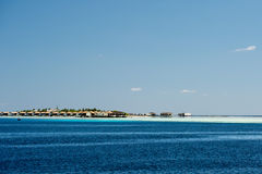 Maldives tropical paradise landscape sandy beach Stock Photos