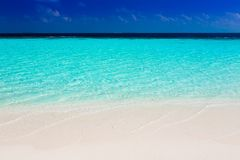 Maldives,  tropical sea background 2! Royalty Free Stock Photography