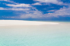 Maldives,  tropical sea background Stock Images
