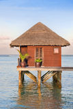 Maldives villa Stock Photography