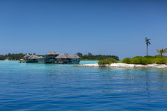 Maldives. Water villas resort. Stock Images