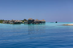 Maldives. Water villas resort. Stock Photography