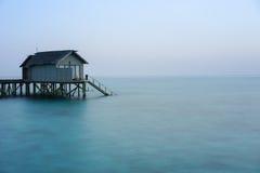 Maldives, water villas resort Stock Images