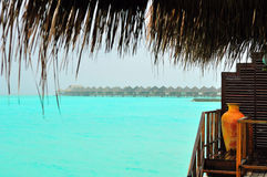 Maldives, Welcome to Paradise! Royalty Free Stock Photos