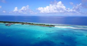 V15265 maldives white sand beach tropical islands with drone aerial flying birds eye view with aqua blue sea water and. Maldives white sand beach tropical stock video footage