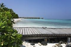 Maldives willa Zdjęcie Royalty Free