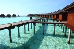 Maldives wody willa Fotografia Stock