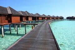 Maldives wody willa Zdjęcie Stock