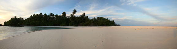Maldives wyspa fotografia stock