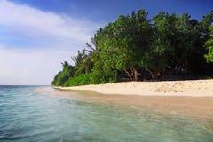 Maldives wyspy plaża obraz royalty free