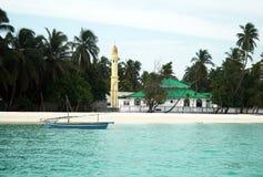 maldivian μουσουλμανικό τέμενο&si Στοκ εικόνες με δικαίωμα ελεύθερης χρήσης
