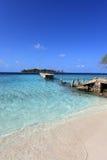 Maldivian остров Стоковое Изображение