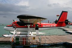 Maldivian Air Taxi Royalty Free Stock Image
