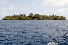 Maldivian atoll royalty free stock image