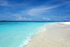 Maldivian beach Stock Image