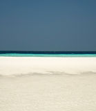 Maldivian beach Stock Images