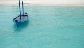 Maldivian boat Stock Image