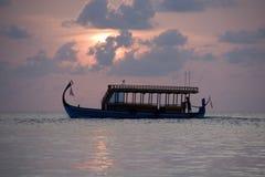 Maldivian doni Royalty-vrije Stock Fotografie