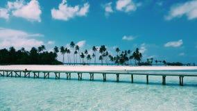 Maldivian eiland Royalty-vrije Stock Afbeeldingen