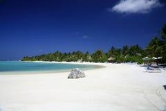Maldivian eiland Stock Afbeeldingen