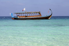 Maldivian fishing boat Stock Image