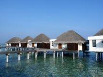 Maldivian Hotelzalen Stock Foto