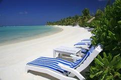 Maldivian island Stock Image