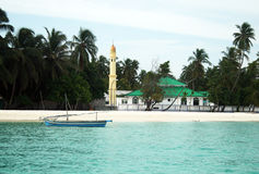 Maldivian mosque. A mosque on the maldivian island of fulidhoo Royalty Free Stock Images