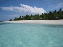 Maldivian na plaży Obraz Royalty Free