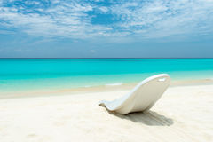 Maldivian plaży raj obrazy stock